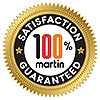 100% satisfaction logo